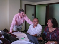 Photo of Tim Magee at a training workshop for nonprofit organizations