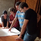 NGO professionals planning a project